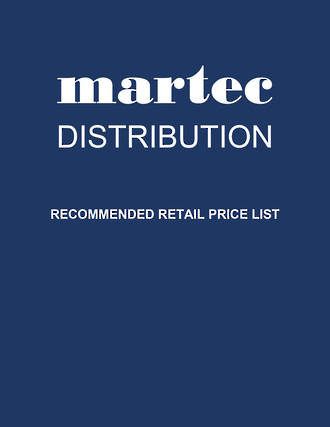 MARTEC - Recommended Retail Price List