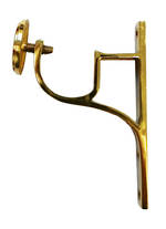 Ring Rod Bracket Brass